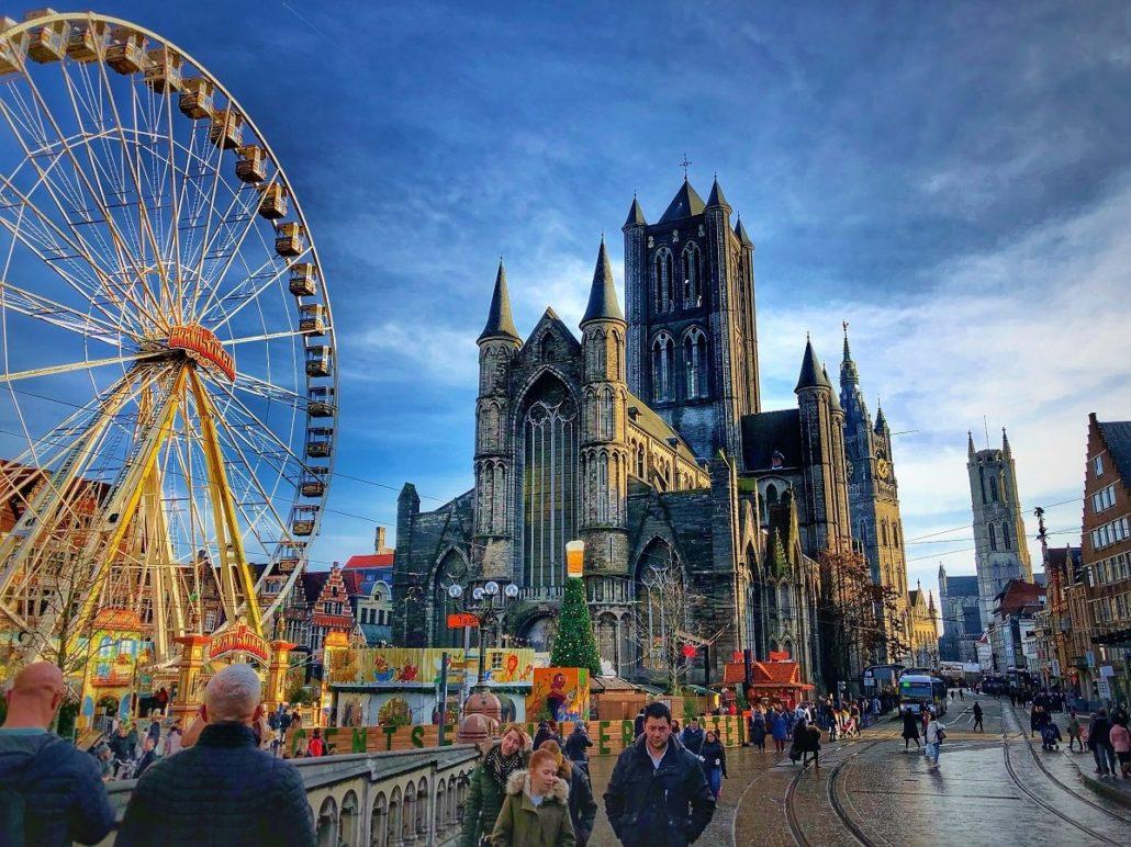 Cuantumul salariilor medii în Belgia