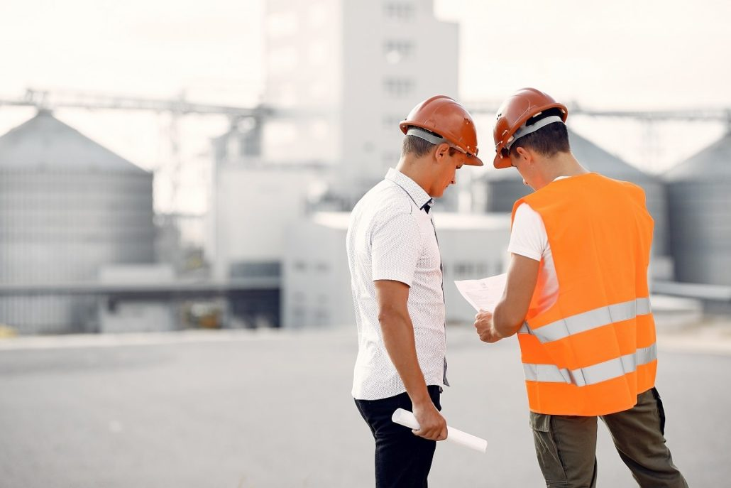 muncitor în construcții